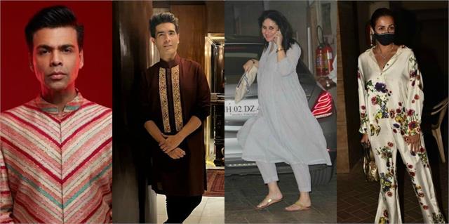 kareena to malaika reached pre diwali party at karan johar house