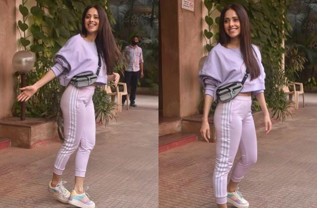 nushrat bharucha spotted outside dance class