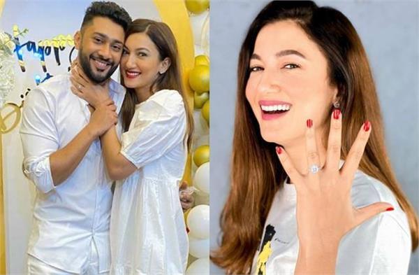 gauhar khan engaged with zaid darbar