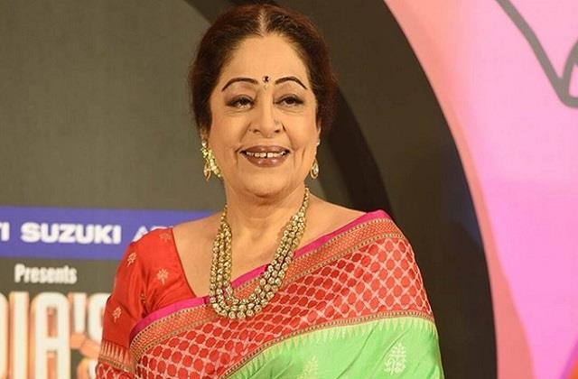 chandigarh mp and actress kirron kher injured