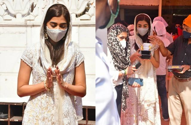 pooja hegde visits gurudwara to seek blessings on guru nanak jayanti