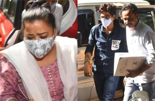 bharti singh admitted she smoked weed bought by husband harsh limbachiyaa