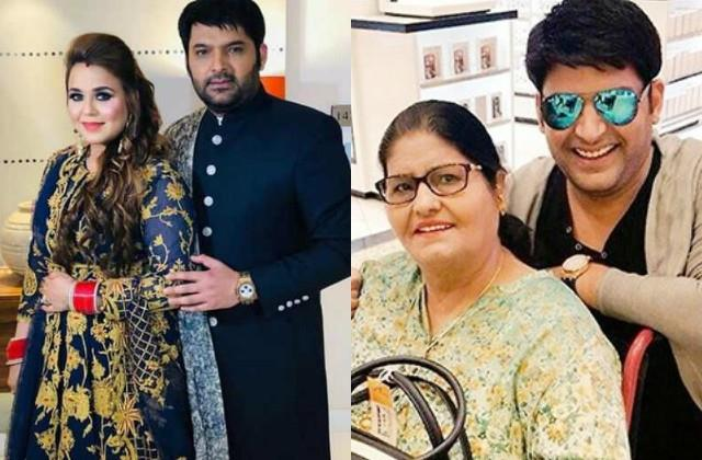 kapil sharma reveal once he praises wife comedian mother got angry