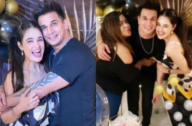 prince narula wife yuvika chadhary gives birthday surprise to her husband