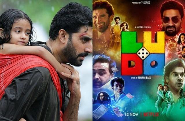 movie review of rajkummar rao and abhishek bachchan film ludo