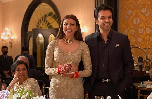 kajal aggarwal gautam kitchlu wedding reception party picture viral