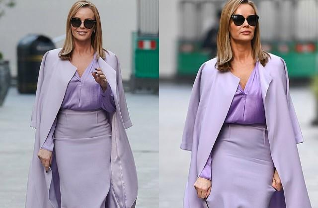 amanda holden spotted on london streets
