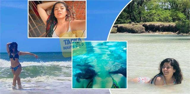 taarak mehta ka ooltah chashmah sonu aka nidhi bhanushali bikini photos viral
