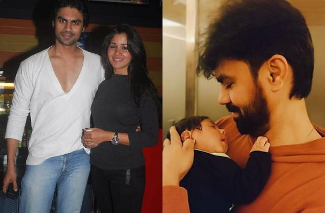 gaurav shares adorable photo with son prince ex girlfriend narayani reacts