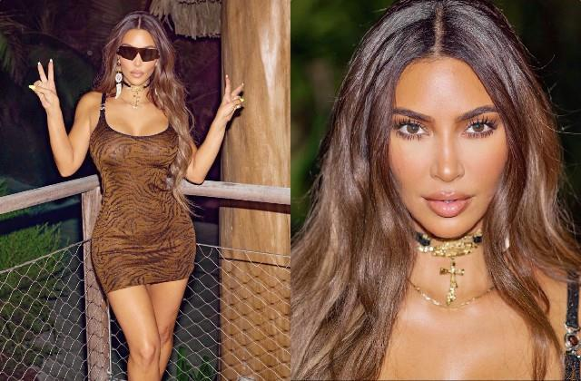 kim kardashian shares her bold photos