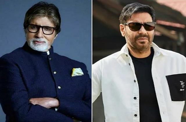ajay devgn and amitabh bachchan work together after 7 years in mayday film