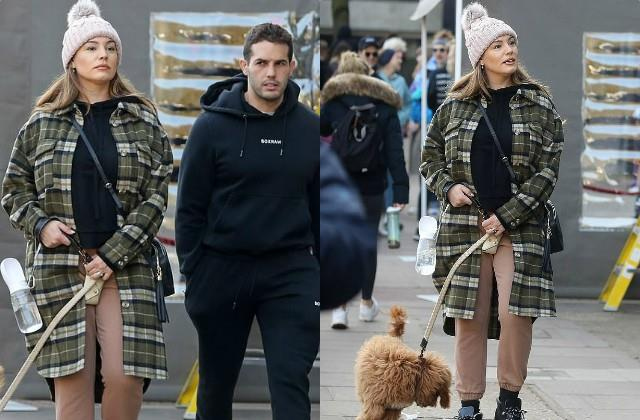 kelly brook outing with boyfriend jeremy paris