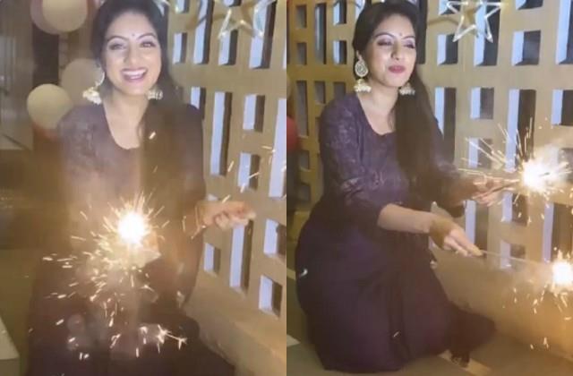 deepika singh shares video on dhanteras