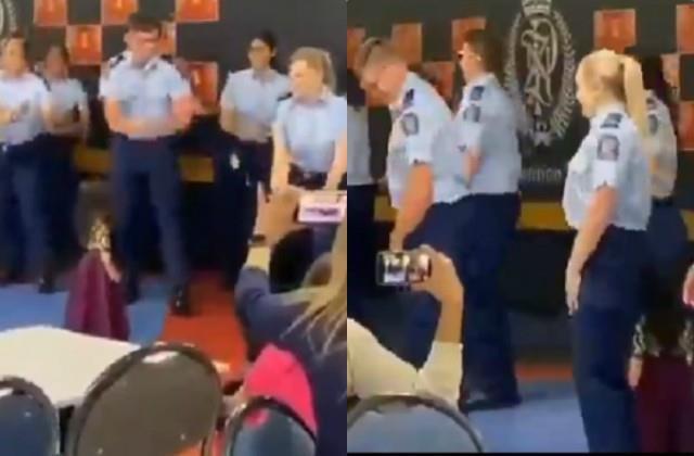 newzealand police dance on badshah song kar gayi chull and kala chashma