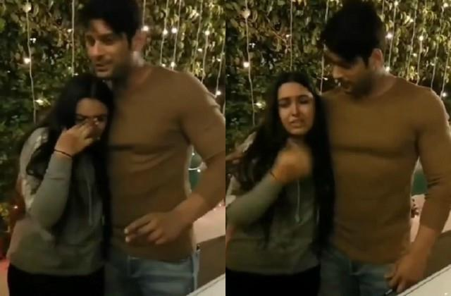 siddharth shukla video viral with his fan