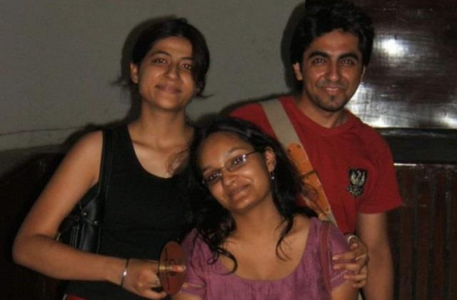 tahira kashyap shared throwback photo with ayushmann from college day