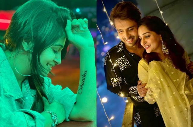 dipika kakar gets a tattoo of husband name on her arm