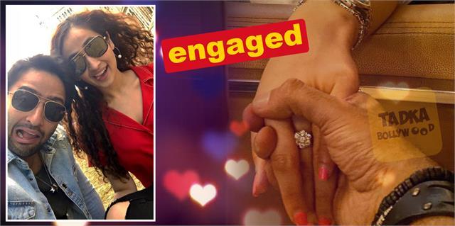 shaheer sheikh gets engaged to gf ruchikaa kapoor