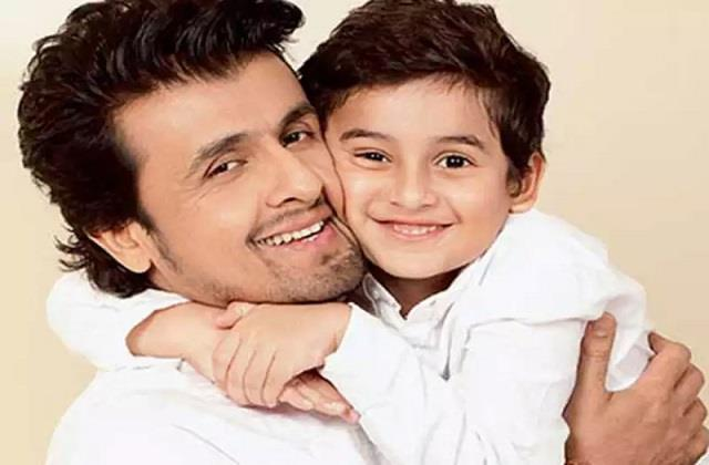 sonu nigam does not wants son to be singer atleast in india