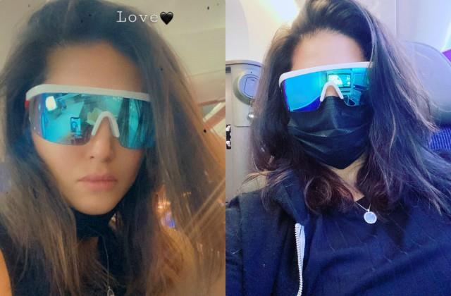 sunny leone returns to mumbai from los angeles after six months