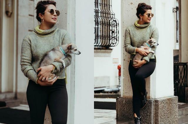 priyanka chopra shares her stunning photos