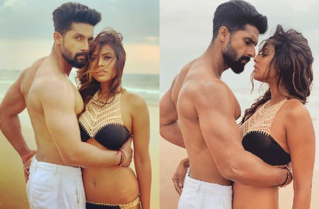 nia sharma and ravi dubey romantic photos viral