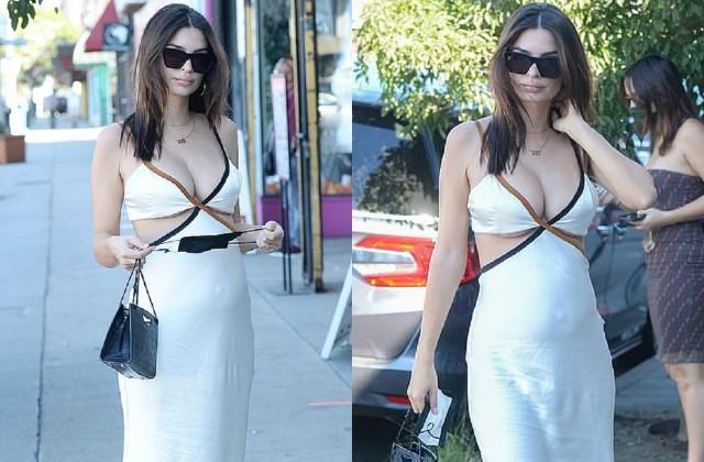 emily ratajkowski spotted los angeles streets