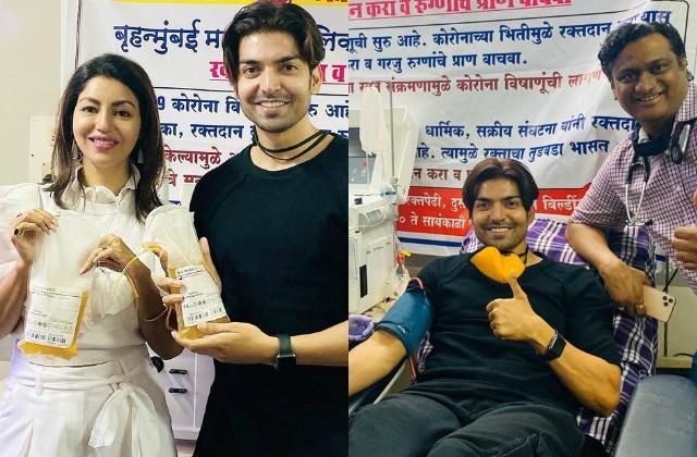 gurmeet choudhary donates plasma for covid 19 patients