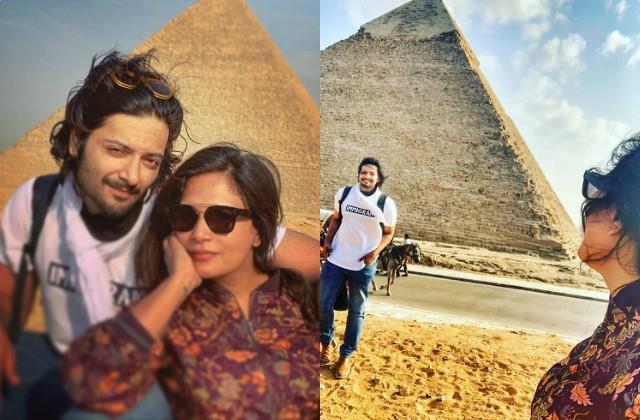 richa chadda share photo with boyfriend ali fazal