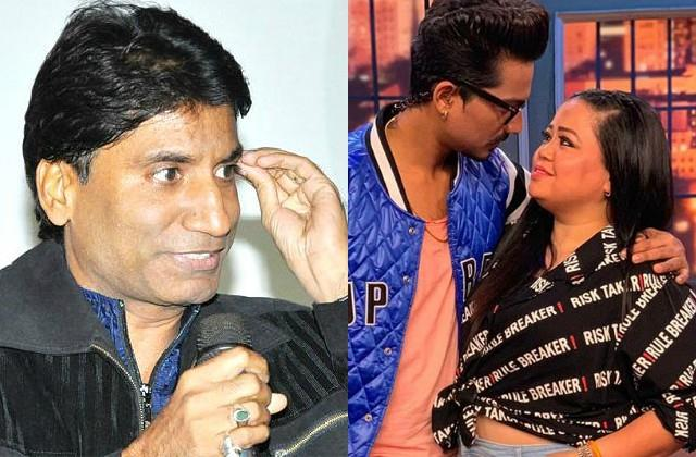 raju srivastava taunts bharti singh after naming in drugs case