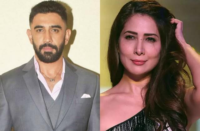 amit sadh enjoys vacation in goa and have dinner with kim sharma and family