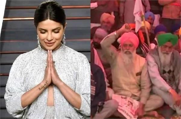 priyanka support farmers protest and says farmers are india food soldiers
