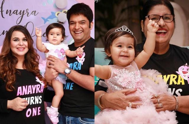 kapil sharma ginni chatrath celebrate daughter anayra first birthday