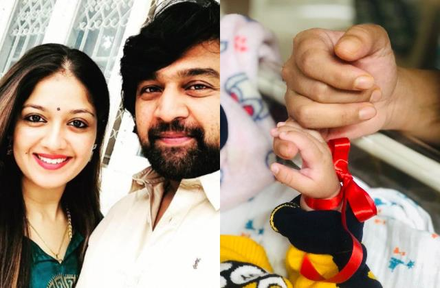 late actor chiranjeevi sarja wife meghana raj share her son first picture