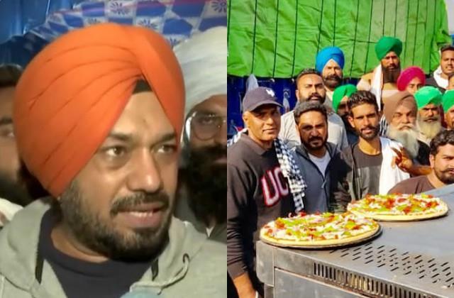 gurpreet ghuggi talk about pizza langar during farmer protest
