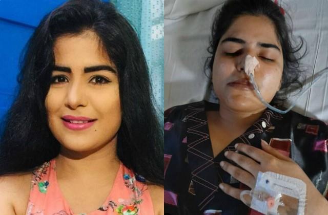 fan actress shikha malhotra suffers paralysis after brain stroke