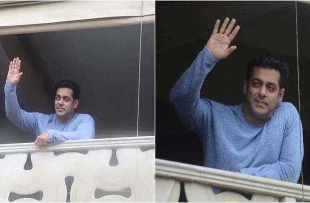 salman khan issues notice for fans not gather outside on his birthday