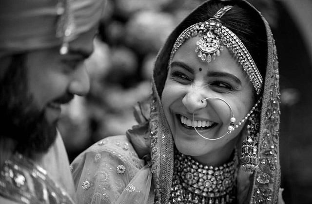 virat kohli shares stunning picture of anushka sharma on their third anniversary