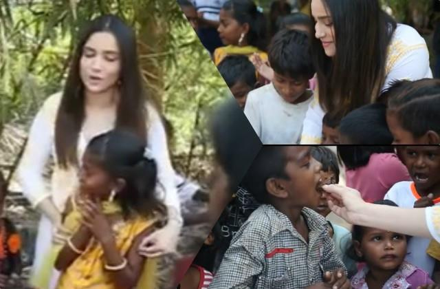 ankita lokhande celebrate her birthday with poor children