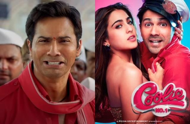 varun dhawan and sara ali khan starrer coolie no 1 get poorest rating on imdb