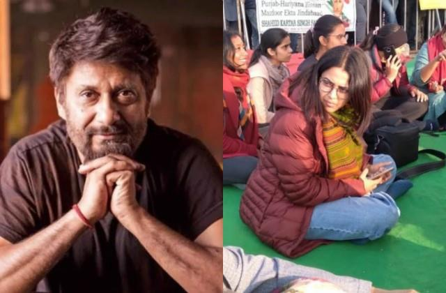 vivek agnihotri takes dig at swara bhasker for visiting singhu border