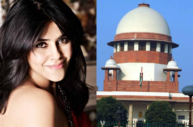 supreme court gives interim relief from arrest to ekta kapoor in web series case