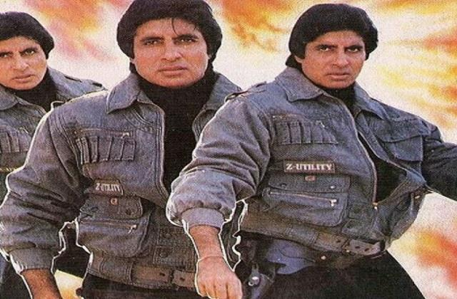 amitabh bachchan shares throwback photo of his film that never made