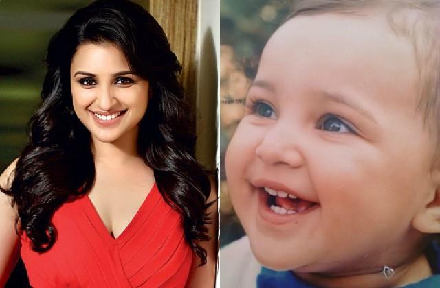 parineeti chopra shares photo of her first birthday