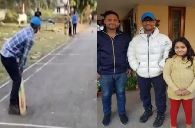 aamir khan arrives in dehradun on private tour
