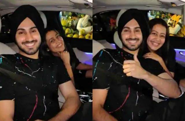 neha kakkar going for eating masala dosa with husband rohanpreet singh