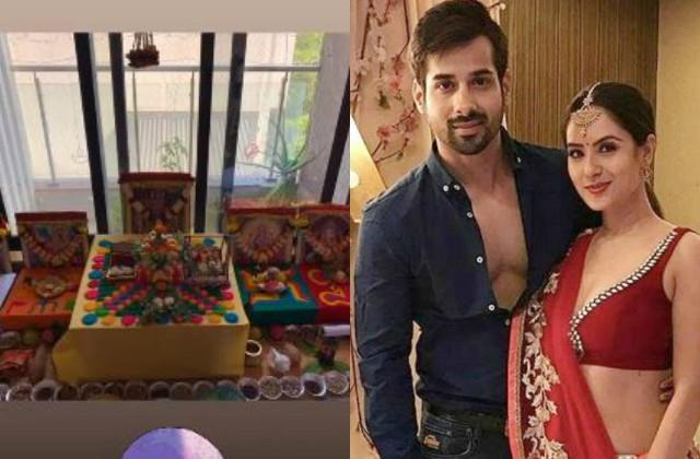 puja banerjee  kunal verma host namkaran sanskar for their baby boy