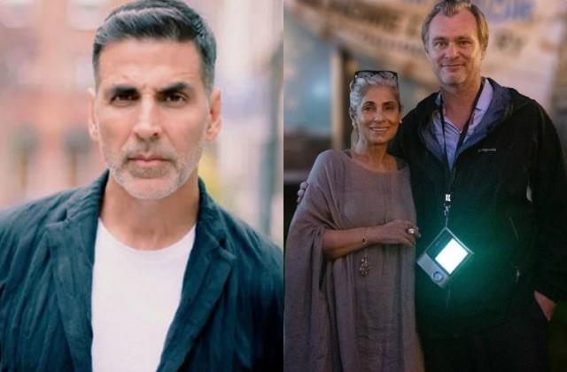 tenet director praises dimple kapadia son in law akshay kumar so happy