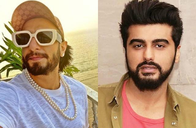 ranveer singh wears pearls necklace fans and arjun kapoor comments