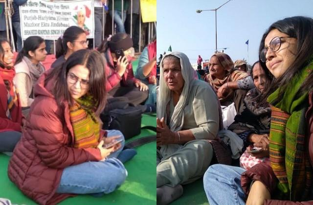 user trolled swara bhasker to joins farmers protest at singhu border